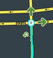 File:U-Turn in bidirectional street.JPG