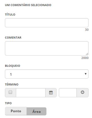 Ptbr WME interface - barra de ferramentas - comentarios - selecionado.png