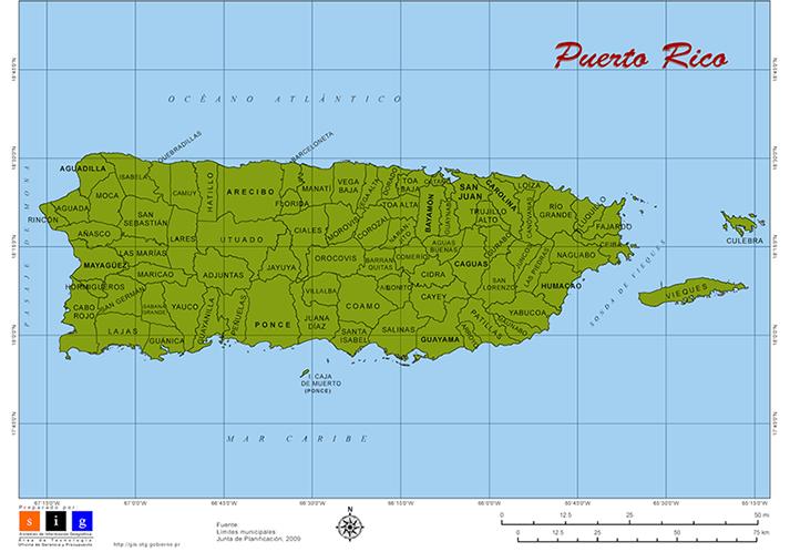 Municipalities of Puerto Rico