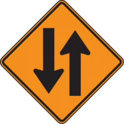 Contraflow sign.png