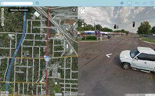 Streetview náhľad