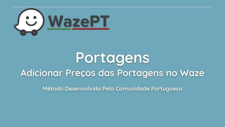 Adicionar Preços de Portagens no Waze