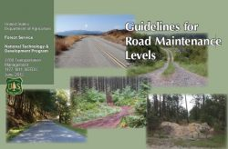 """USFS Guidance for Road Maintenance Levels"