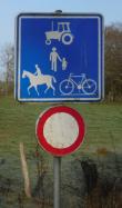 Belgium F99 sign