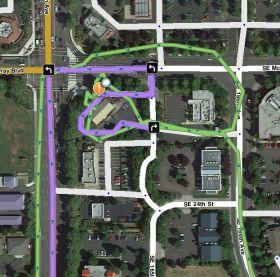 Ukážka mapy s UR