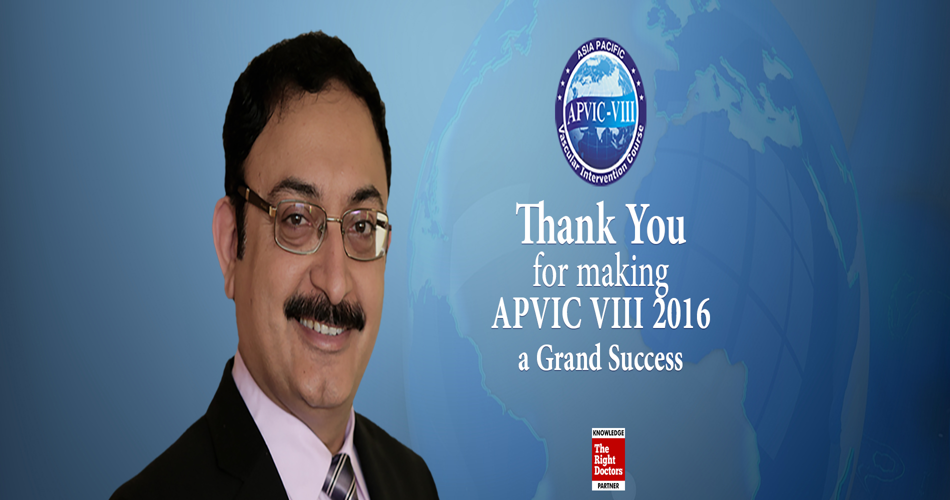 Asia Pacific Vascular Intervention Course 2016, Taj Palace, New Delhi