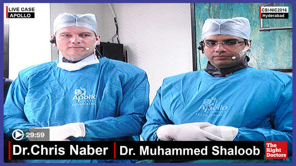 Dr. Chris Naber, Interventional Cardiologist, Apollo, Secunderabad