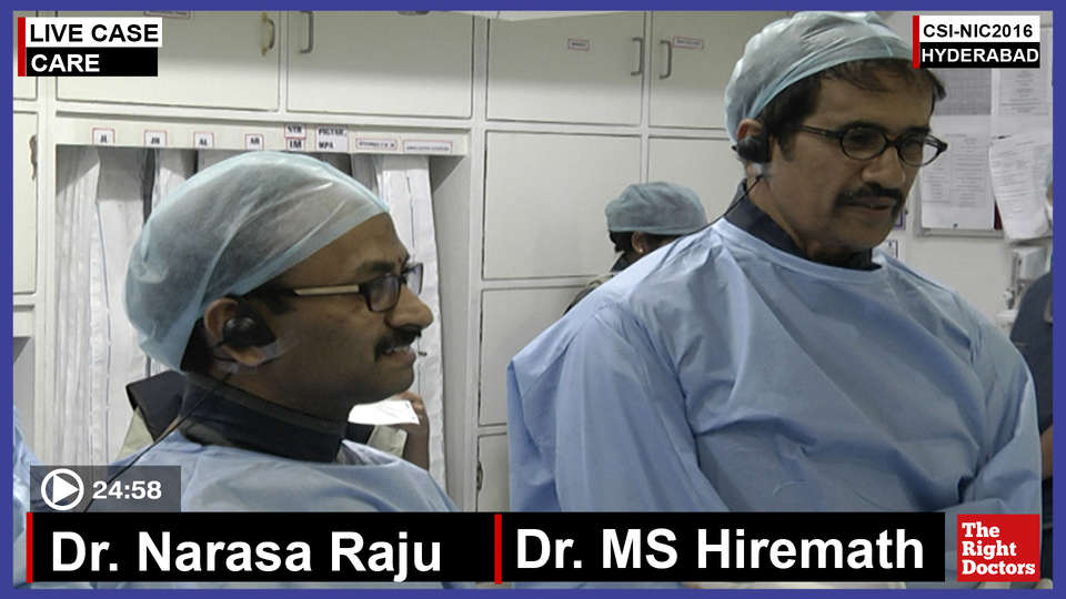 Dr. MS Hiremath, Interventional Cardiologist, Care Hospital Hyderabad