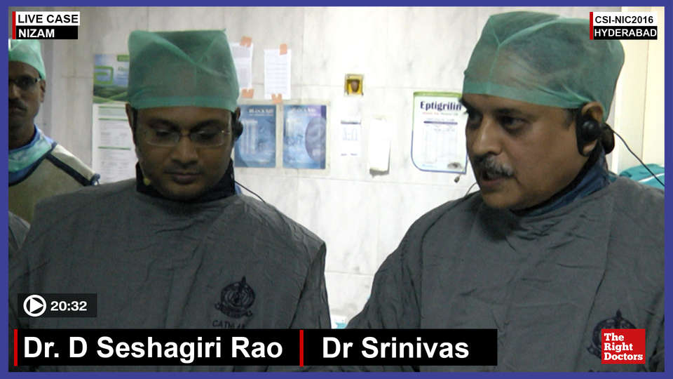 Dr. Seshgiri Rao, Interventional Cardiologist, Nizam Hospital, Hyderabad