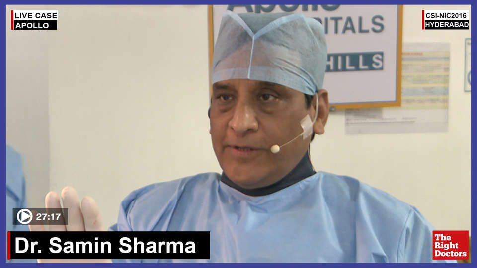 Dr. Samin Sharma, Interventional Cardiologist, Mount Sinai Hospital, US