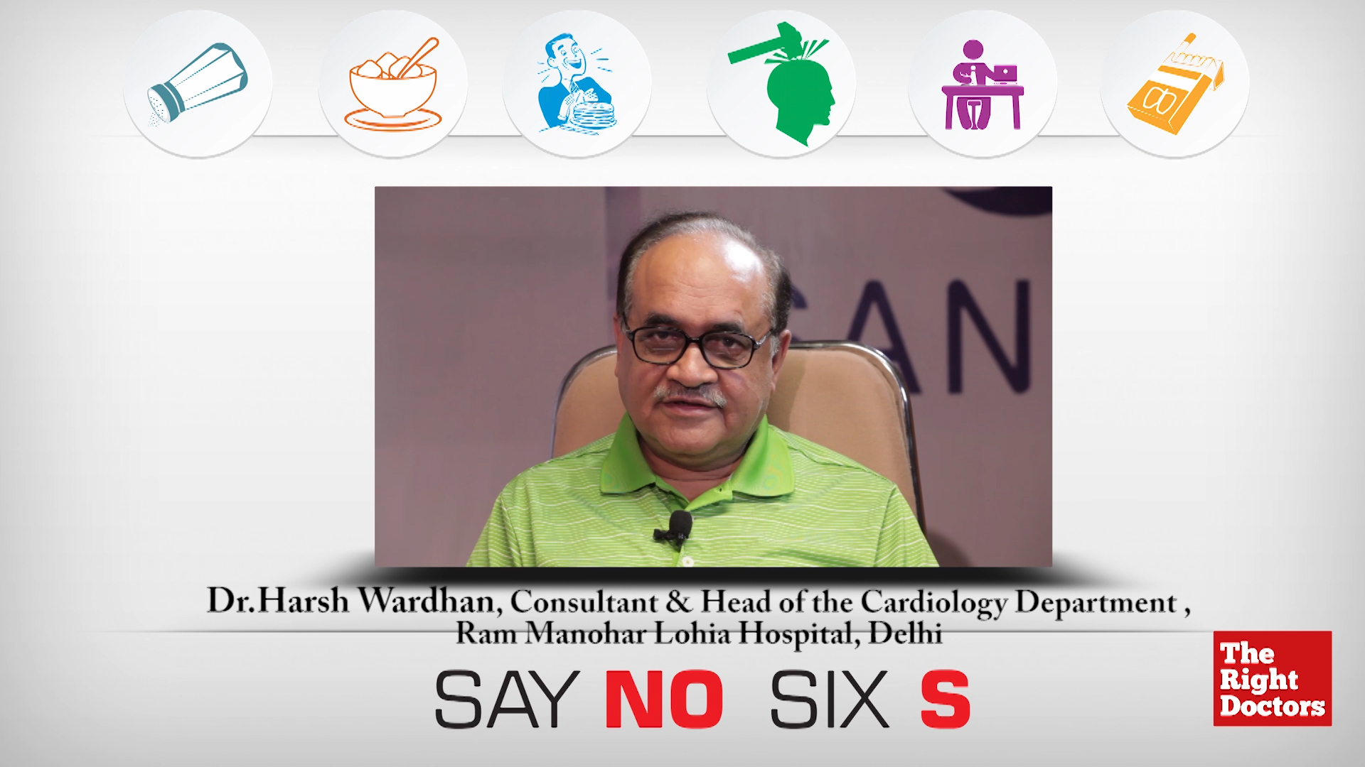 Say No to Six S: A CardiacPrevent2015 Campaign