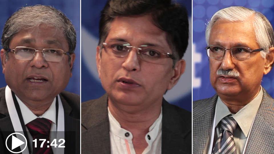 Dr.H.K.Chopra with Dr.M.K.Das, Dr.J Shiv Kumar and Dr.Amal banerjee