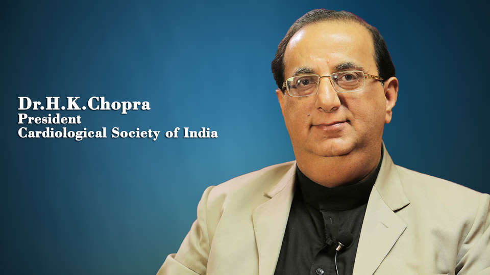 Dr. H.K Chopra,President Cardiological Society of India,Triple  jeopardy of obesity epidemic-metabolic syndrome, CVD and heart failure: time to act is now