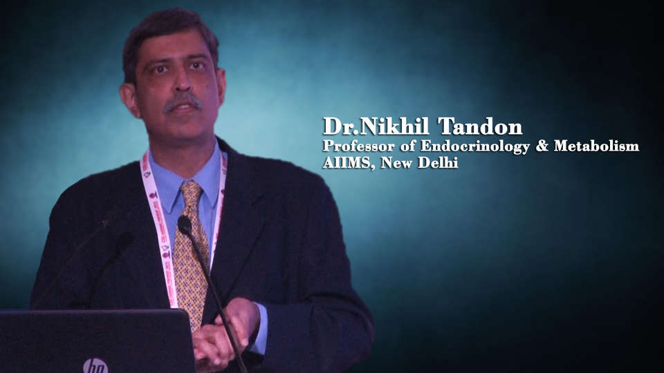 Dr.Nikhil Tandon,Professor of Endocrinology & Metabolism, AIIMS, New Delhi, Innovations in prevention of diabetes