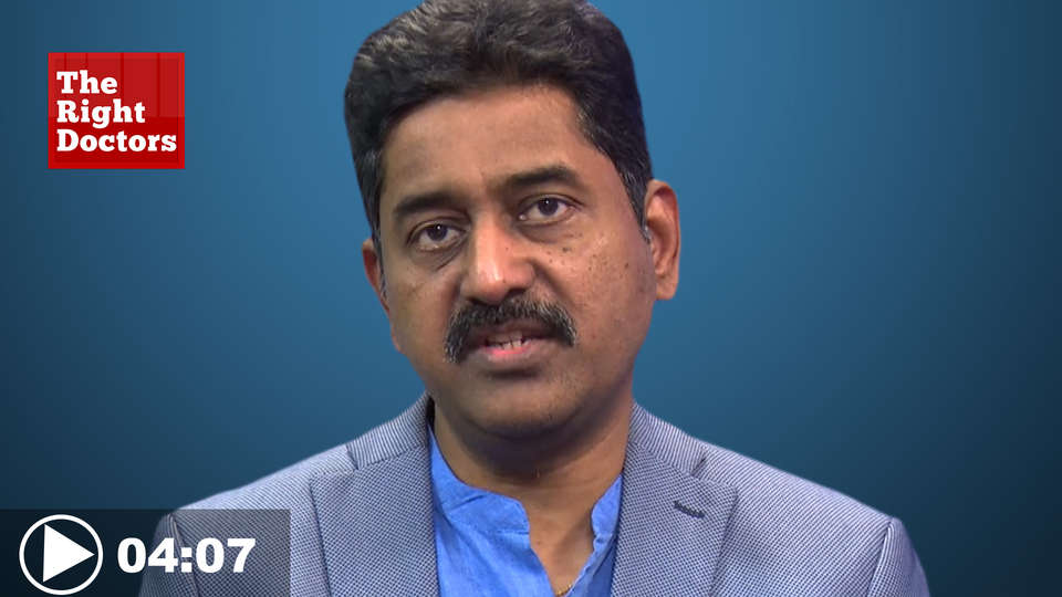 Dr.Sreenivas Kumar, Chief Cardiologist,Citizens Hospital, Hyderabad