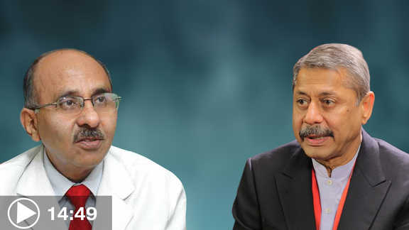 dr o p yadava in conversation with dr naresh trehan