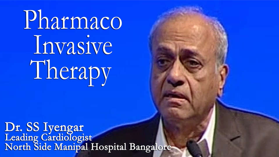Dr. SS Iyengar Leading Cardiologist North Side Manipal Hospital Bangalore on TheRightDoctors.com An Analysis on Pharmaco Invasive Therapy