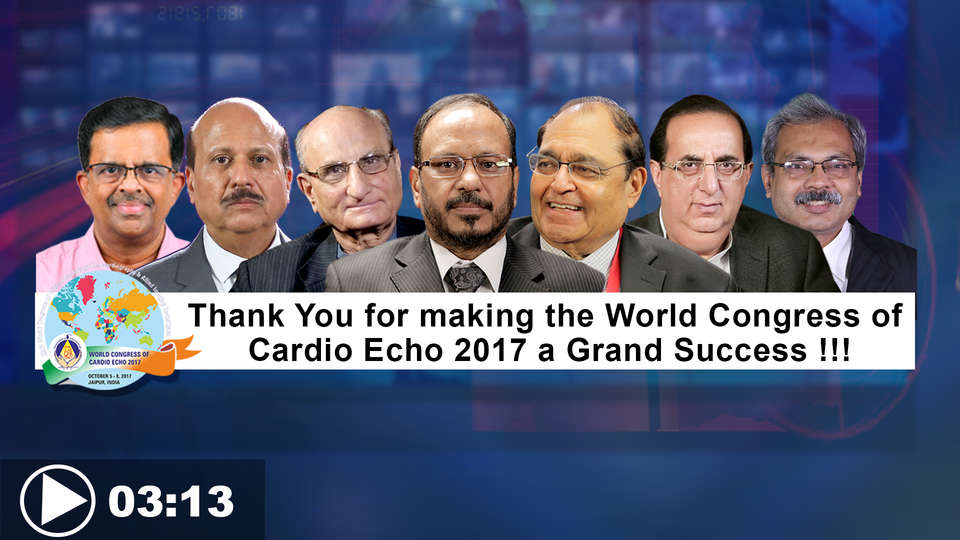 Dr. Rakesh Gupta, World Congress of Cardio Echo 2017