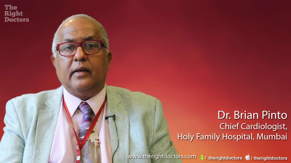 Dr. Brian Pinto, Chief Cardiologist, Holy Family Hospital, Mumbai, Fibrinolytic therapy: A saviour in the absence of angioplasty