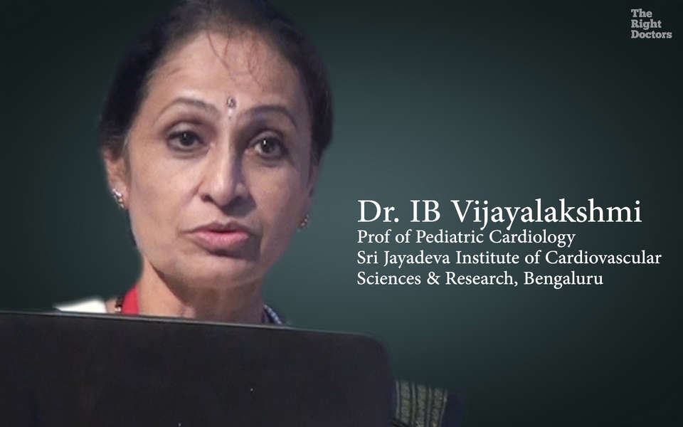 Dr. IB Vijayalakshmi, Prof of Pediatric Cardiology, Echocardiography in RHD: New Fontiers 2015