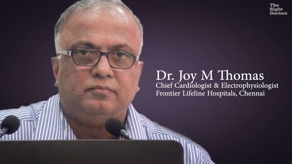Dr. Joy M Thomas, Chief Cardiologist & Electrophysiologist,  Prevention of SCD