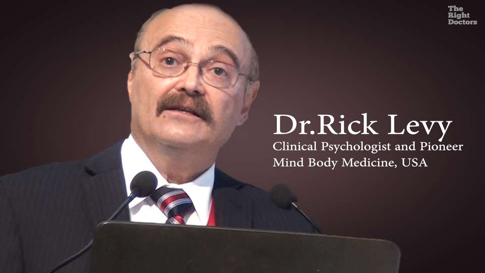 Dr. Rick Levy,  Clinical Psychologist, Self Help Kit to combat stress