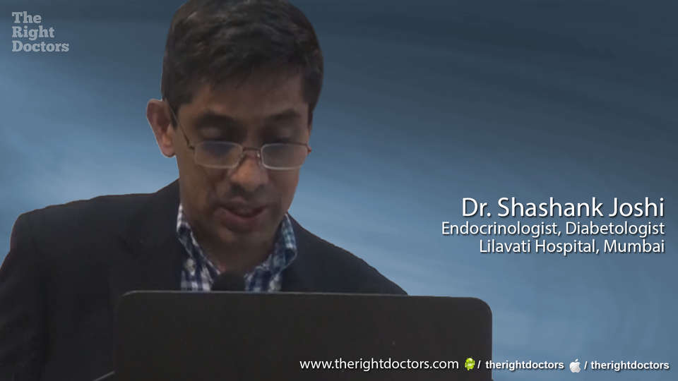 Dr. Shashank Joshi, Endocrinologist, Diabetologist, Ideal Edible Oil: does it protect CVD?