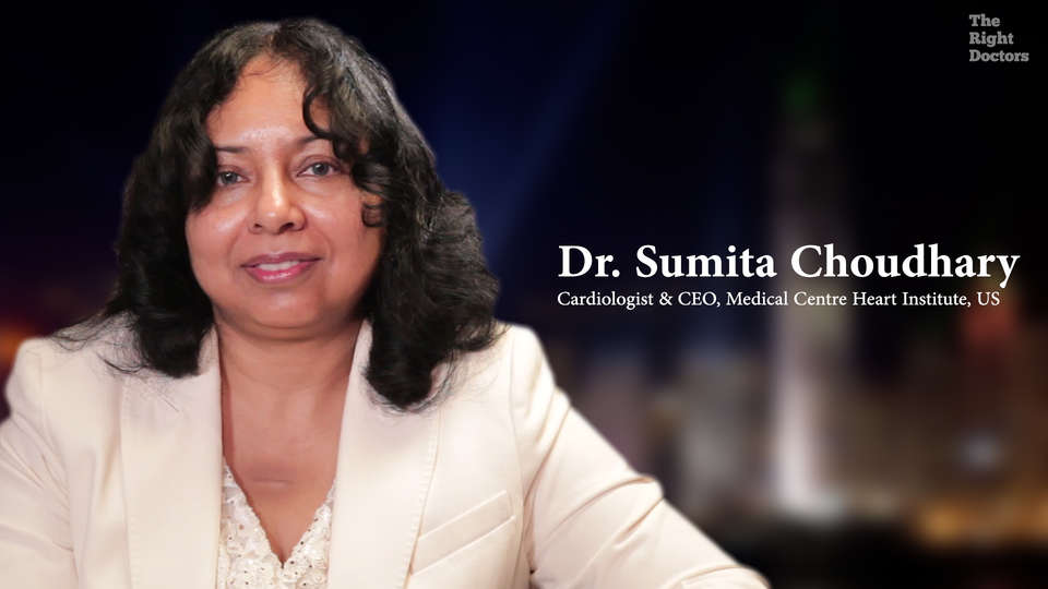 Dr. Sumita Chowdhury, Cardiologist &CEO, Medical Center Heart Institute, Houston, The Tsunami of CAD Engulfing Indian Women