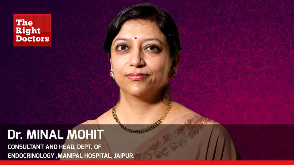 Dr. Minal Mohit, General Physician, Diabetes, Thyroid and Endocrine Disorder Specialist In Jaipur