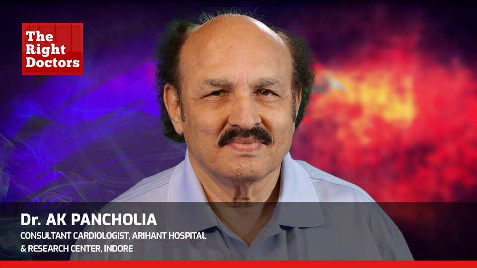 Dr. AK Pancholia ,Cardiologist, WCCMM 2019 ,TheRightDoctors