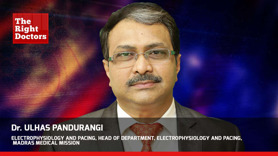Dr. Ulhas Pandurangi,Electrophysiology and Pacing, Head Of Department, WCCMM 2019, TheRightDoctors