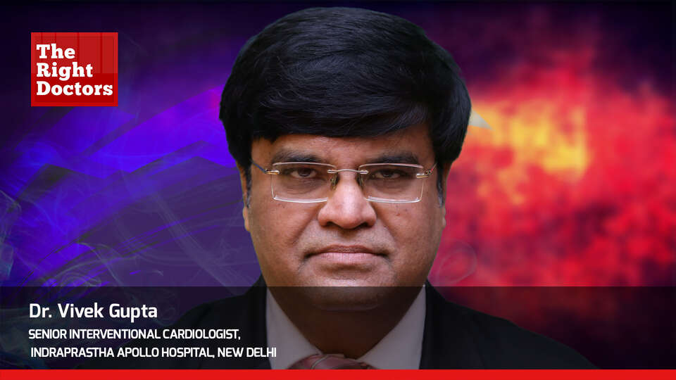 Dr. Vivek Gupta,Senior Interventional Cardiologist, WCCMM 2019, TheRightDoctors