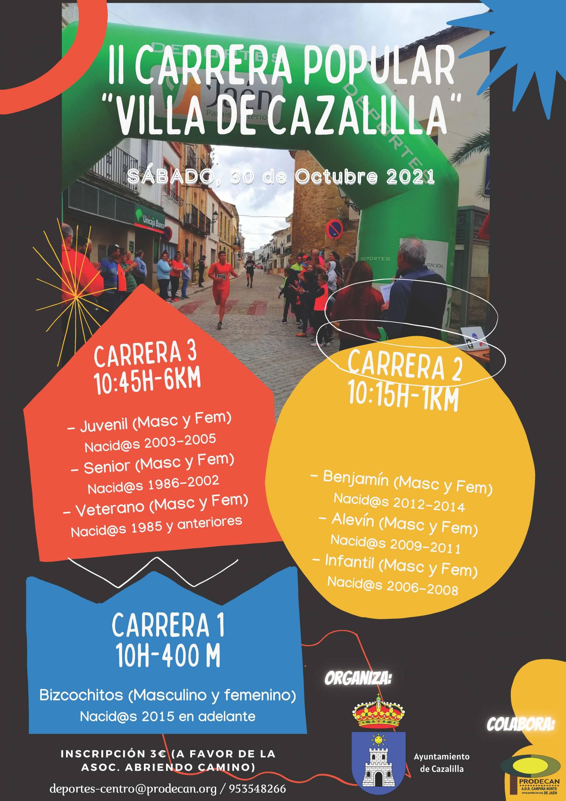 II Carrera Popular Villa de Cazalilla