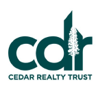Cedar Realty Trust Inc (CDR)