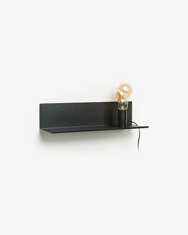 Hannah wall lamp 50 cm black