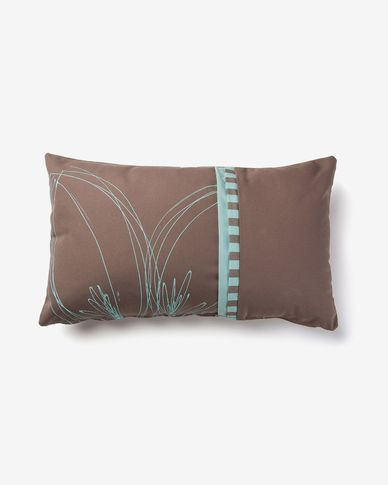 Acqua cushion cover brown