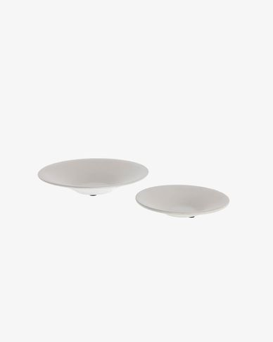 Naimi set of 2 plates for planters
