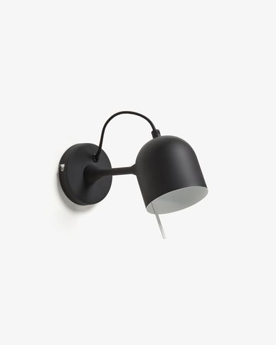 Lucilla wall lamp black