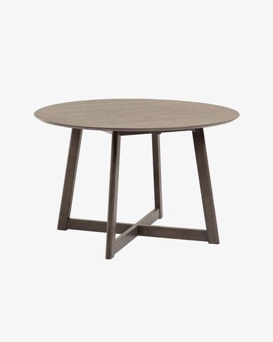 Extendable Maryse 120 x 75 cm table in an ash finish