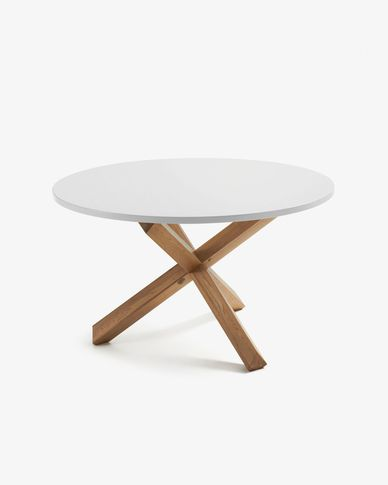 White otus table Ø 120 cm