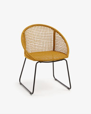 Mustard Sandrine chair