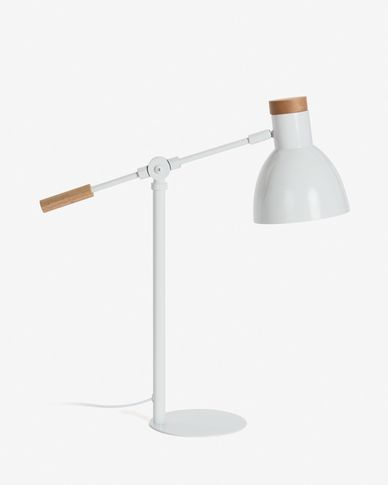 Tescarle table lamp white
