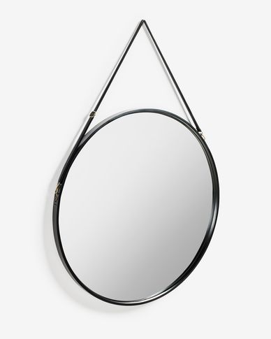 Raintree mirror Ø 80 cm
