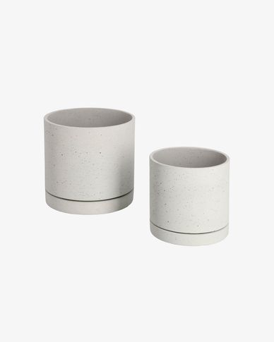 Kawanti set of 2 planters