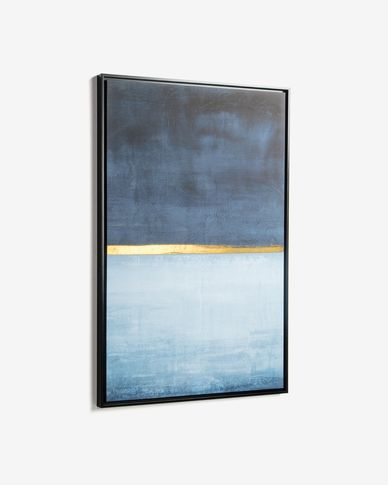 Wrigley blue picture 60 x 90 cm