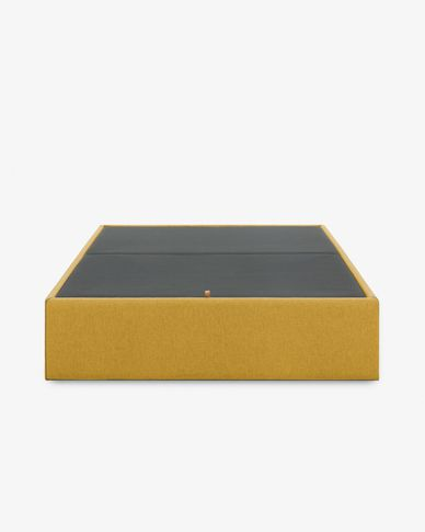 Storage bed base Matter 160 x 200 cm mustard