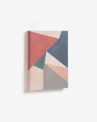 Kyrene red triangle picture 28 x 35 cm