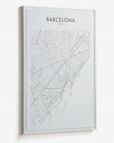 Uptown Barcelona picture 50 x 70 cm
