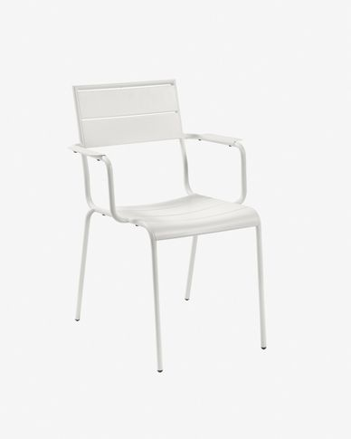 Advance matte white chair
