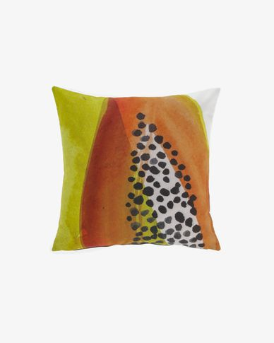 Dikeledi papaya 45 x 45 cm cushion cover